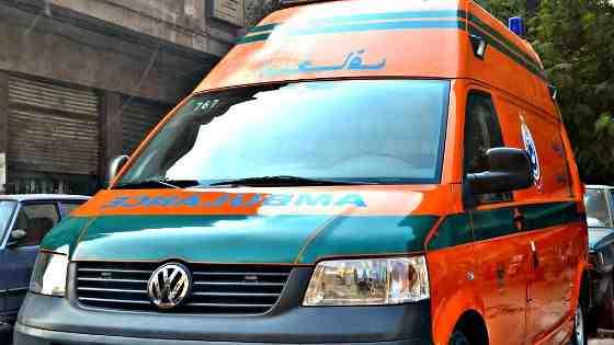إصابة 10 أشخاص في حادث تصادم بالشرقية