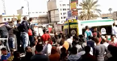 """مصرع 3 وإصابة 4 أشخاص فى حادث سير بطريق """"العاشر – الإسماعيلية"""""""