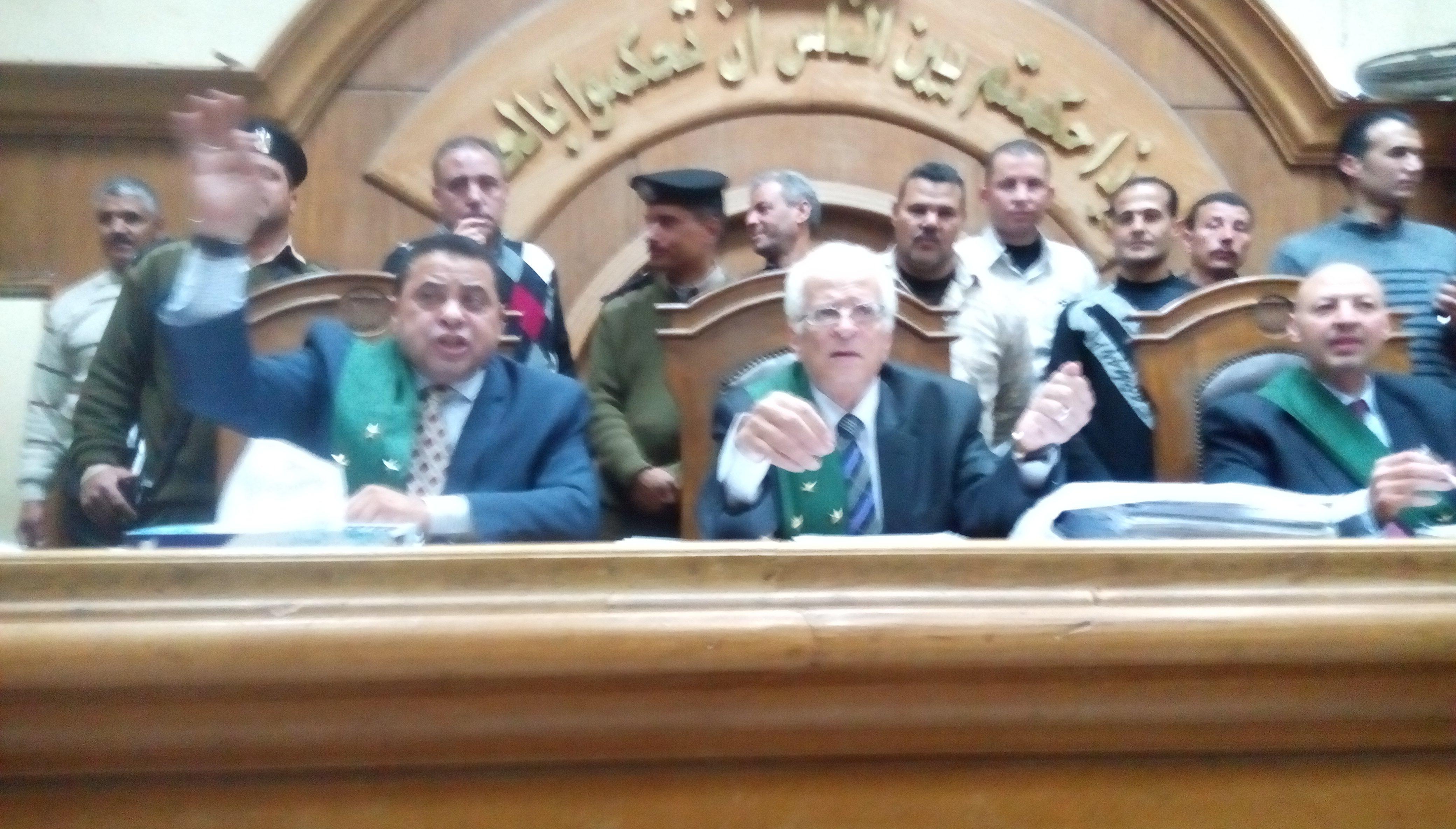 تأجيل محاكمة 9 محامين لتعديهم على أعضاء نيابة أبو كبير لجلسة 20 مايو
