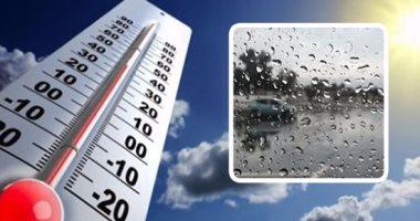 استمرار انخفاض درجات الحرارة وأمطار بالسواحل الشمالية والعظمى بالقاهرة 26