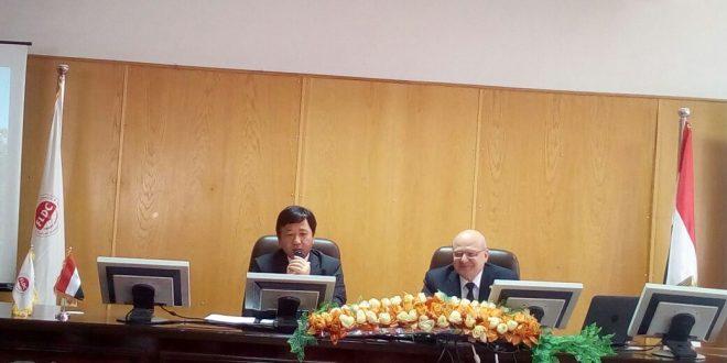 جامعة الزقازيق تبحث التعاون العلمى والثقافى مع اليابان