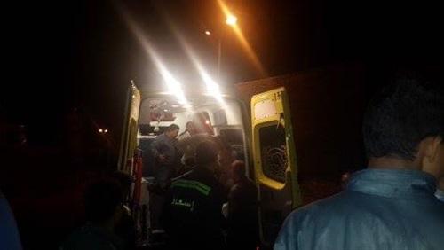 إصابة 10 أشخاص بحادث تصادم في الشرقية