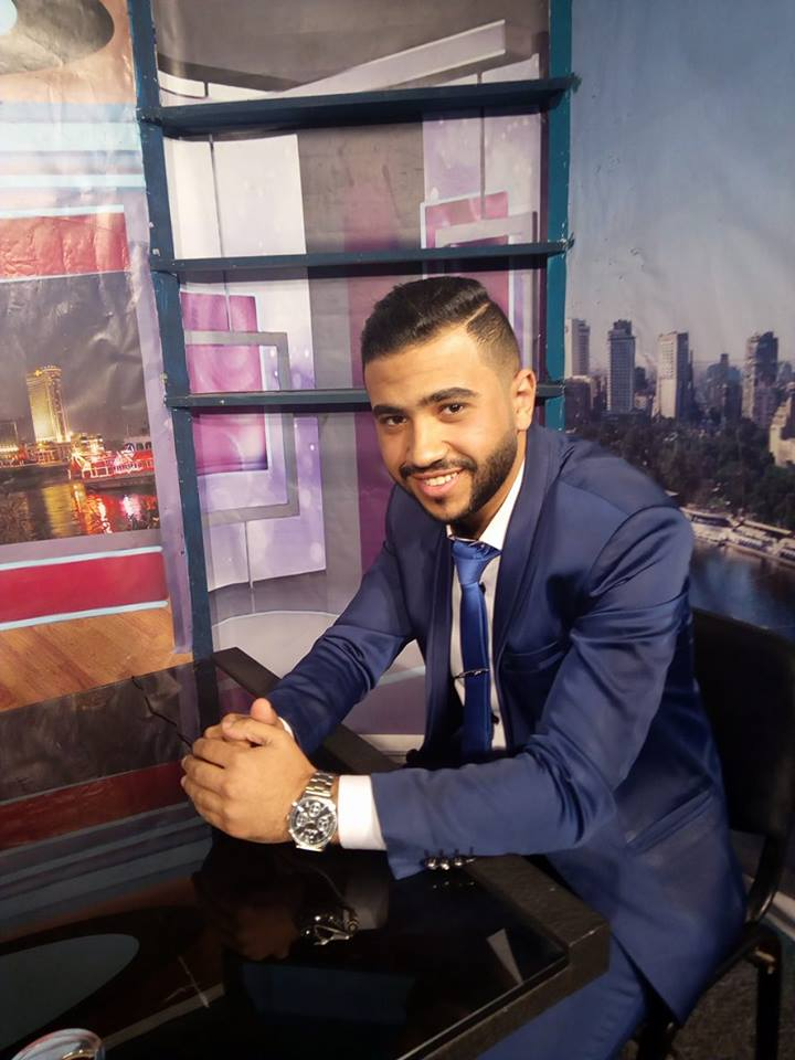 قصة نجاح الإعلامي الصاعد محمود رضا حَماد