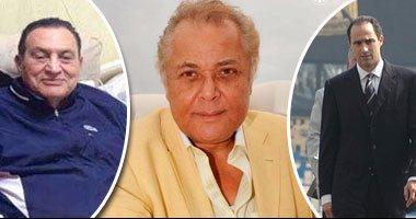 حسنى مبارك ونجله جمال يطمئنان هاتفيًا على الساحر محمود عبد العزيز