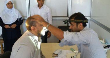 قافلة جامعة الزقازيق تفحص 1430 حالة وتعقد ندوات ودورات تدريبية