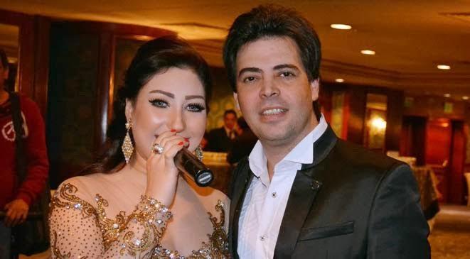 «فضيحه» الفنانه بوسي «بنت الشرقية» مع زوجها السابق