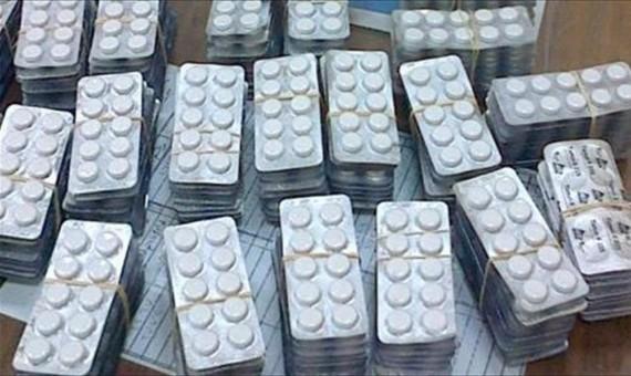 ضبط عاطل بحوزته 8 آلاف قرص مخدر التامول ببلبيس