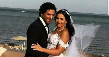بالصور | حفل زفاف إيمى سمير غانم وحسن الرداد بالجونة وحضور كبار النجوم