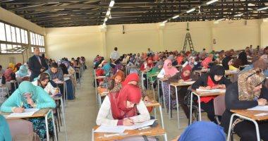 تجارة الزقازيق : رسوب 25 طالبا فى مادتين بسبب الغش