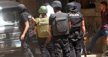 مقتل المتهم بإصابة مخبر أمن وطنى بعد تبادل إطلاق النار مع الشرطة ببلبيس