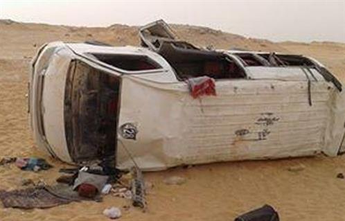 إصابة 20 شخصا فى حادث تصادم سيارتين مروع بمركز ديرب نجم