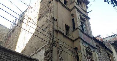 إخلاء منزل مكون من 4 طوابق آيل للسقوط بطنطا