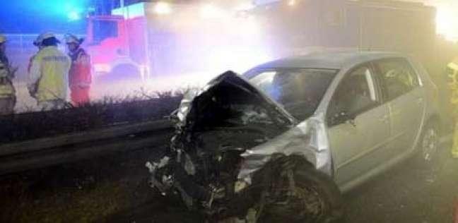 مصرع مواطنين اثنين وإصابة آخرين في حادثي تصادم بفاقوس وبلبيس
