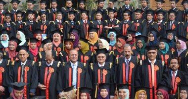 جامعة الزقازيق تحتفل بتخريج دفعة 2016 من طلاب البرنامج الماليزى