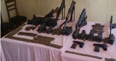 ضبط 8 قطع أسلحة نارية و8 كيلو بانجو وفحص 25 شقة مفروشة فى حملة بالشرقية